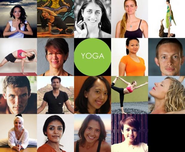 P Yoga presenters