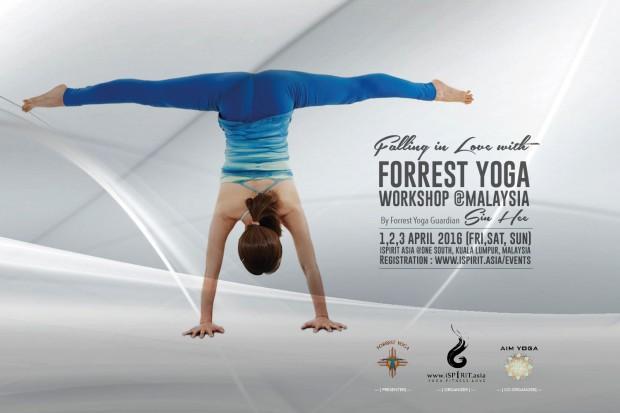 Forrest Yoga Sin Hee @Malaysia 2016