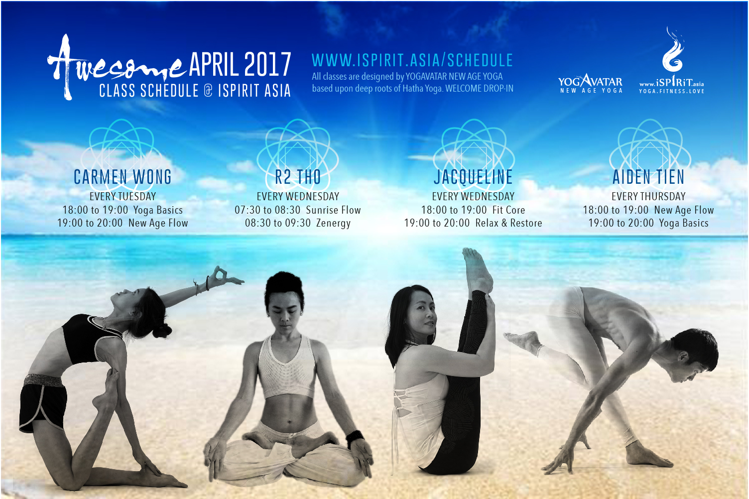 iSpirit Schedule 2017-04