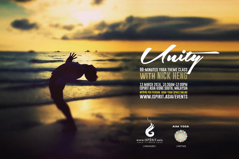 Unity Yoga Theme Class with Nick Heng