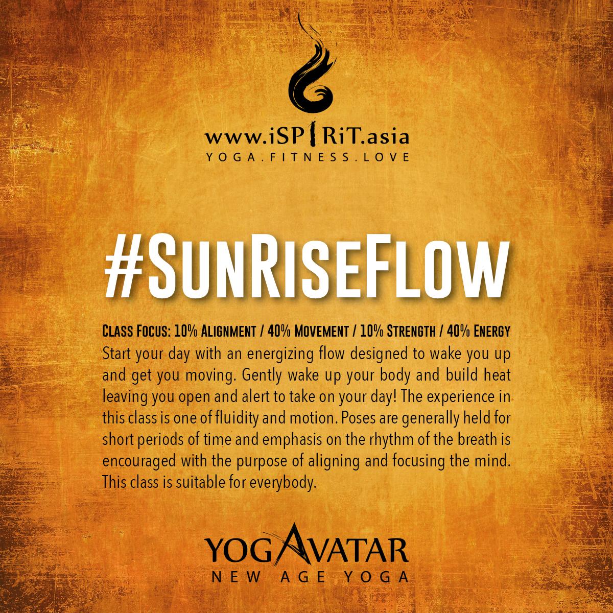 #SunRiseFlow