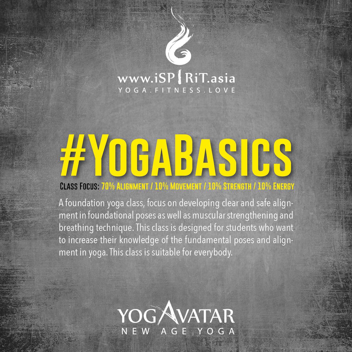 #YogaBasics