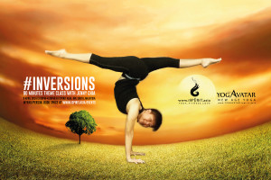 Inversions 90 minutes theme class with Jenny Chia