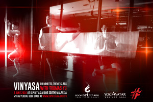 Vinyasa with Thomas Yu Malaysia