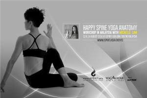 Happy Spine Yoga Anatomy 2016 Michelle Lam