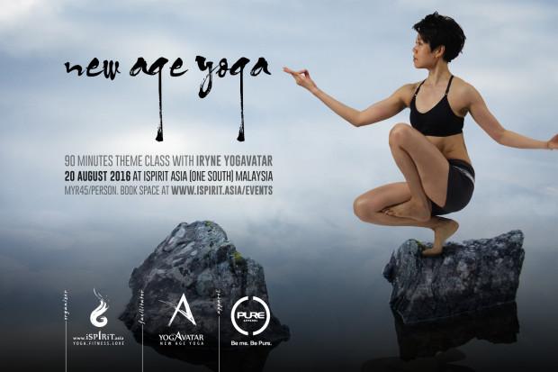 New Age Yoga with iRyne Yogavatar