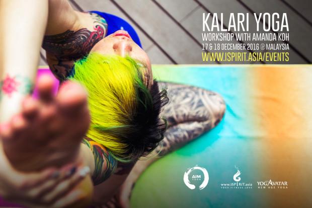 Kalari Yoga Amanda Koh