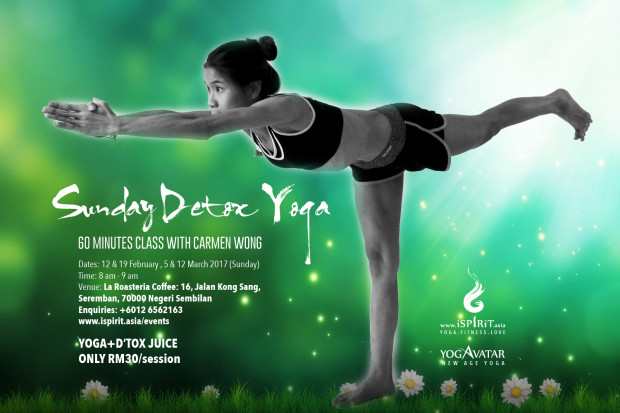 Detox Yoga Carmen Wong Seremban