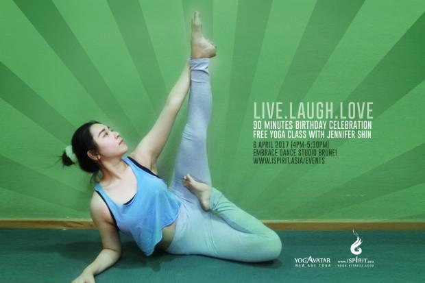 Live Laugh Love Jennifer YOGAVATAR