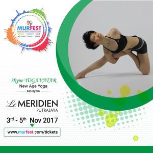MURFEST 2017 iRyne Yogavatar New Age Yoga