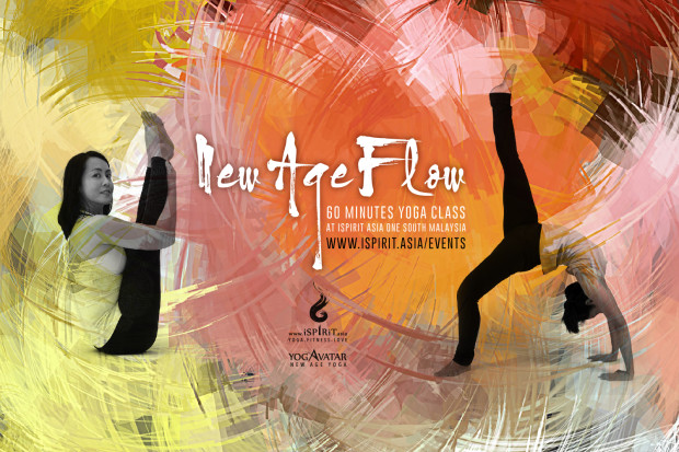 2018 New Age Flow 60 MINUTES YOGA CLASS