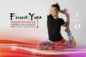 Forrest Yoga Workshop with Nick Heng