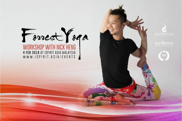 Forrest Yoga Workshop with Nick Heng