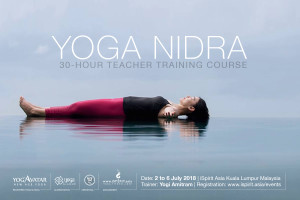 A YOGA NIDRA Teacher Training Course Yogi Amitram