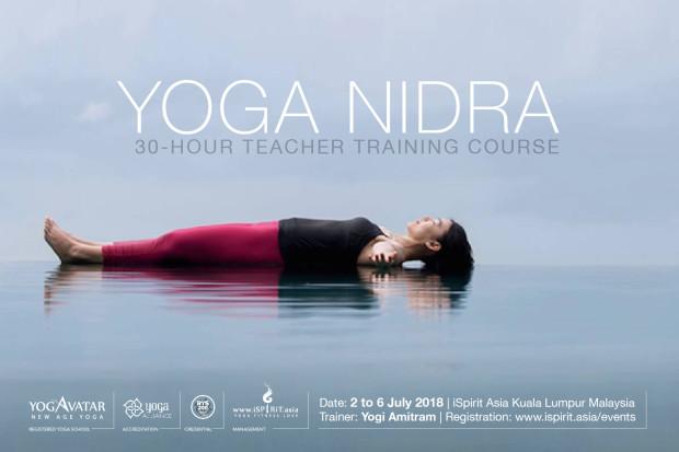 A YOGA NIDRA Teacher Training Course Yogi Amitram
