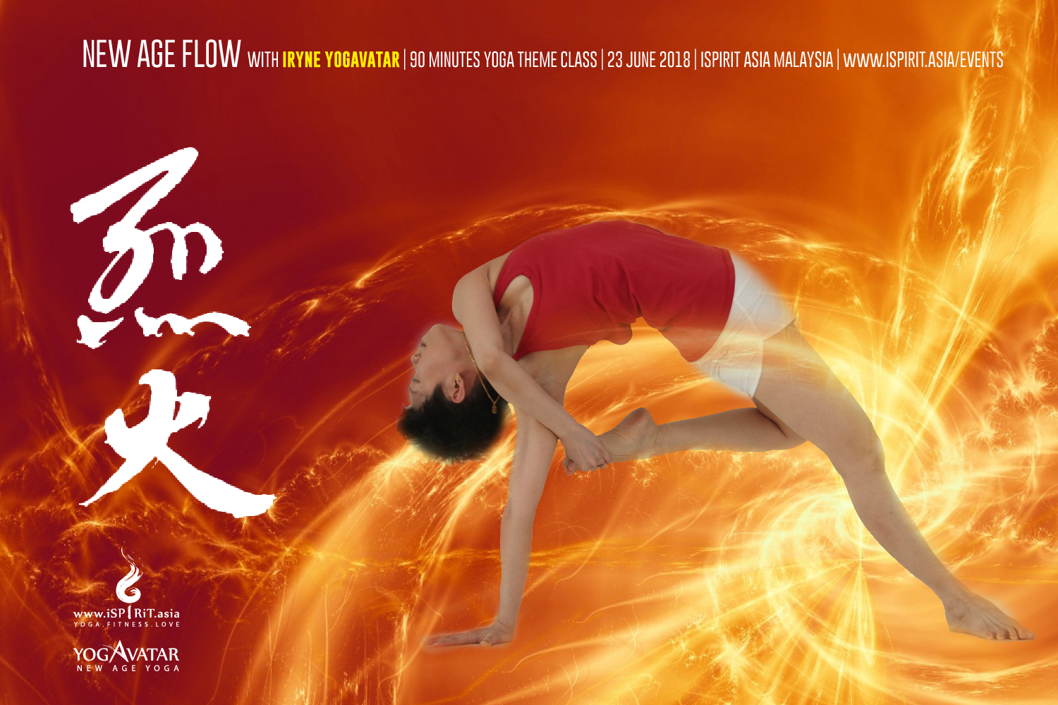 Fire New Age Flow Yogavatar