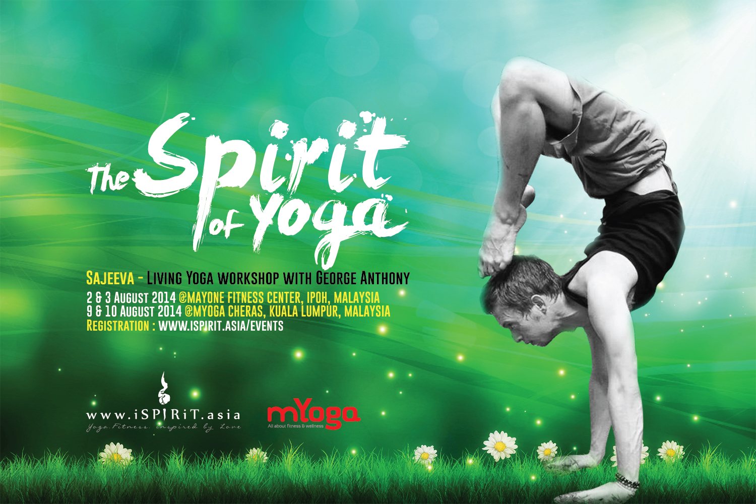August 2014 Malaysia The Spirit Of Yoga Living Workshop With George Anthony