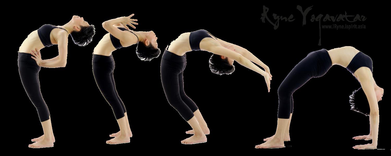 iRyne Yogavatar Back Bend Evolve