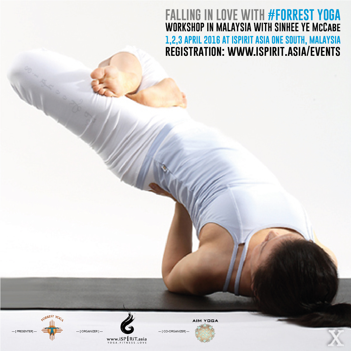 Falling In Love With Forrest Yoga Workshop in Malaysia poster V5