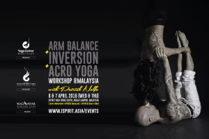 Arm Balance Inversion Acro Yoga Workshop Malaysia Patrick Nolfo