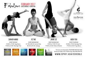 Yogavatar Schedule 2017-02