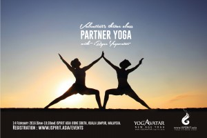 Valentine's Partner Yoga with iRyne Yogavatar 2016