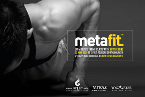 Metafit 90 minutes theme class with elvis