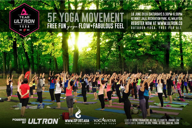 Ultron Yoga Movement 18 June 2016