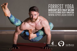 Forrest Yoga Workshop with Finlay Wilson in Malaysia