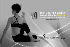 Happy Spine Yoga Anatomy 2016 Michelle Lam