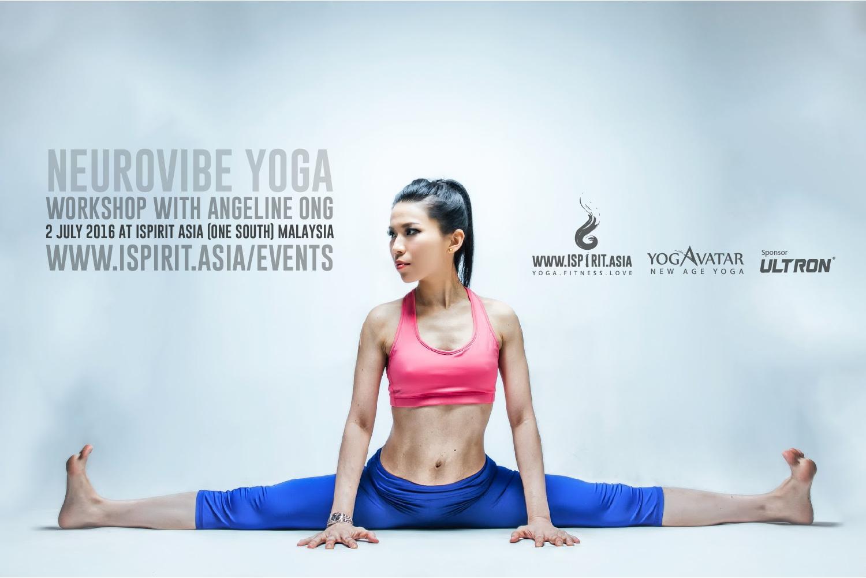 NeuroVibe Yoga Workshop Angeline Ong
