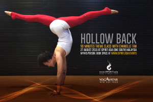 Hollow Back theme class with Chanielle Tan