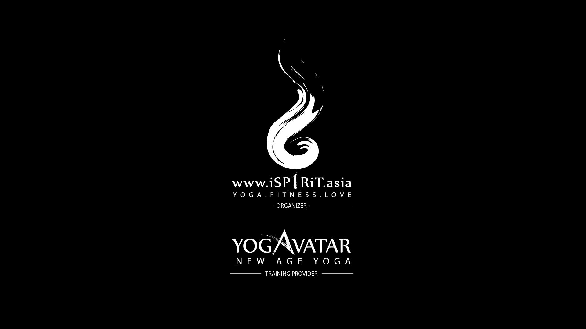 ISPIRIT ASIA & YOGAVATAR NEW AGE YOGA LOGO