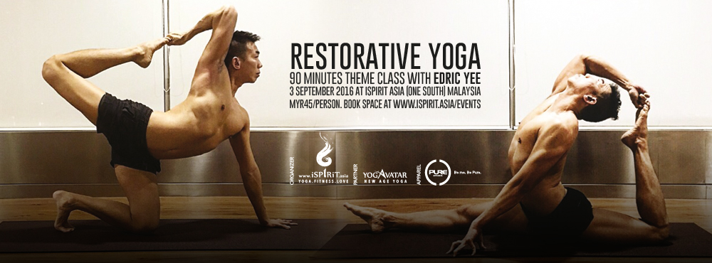 Restorative Yoga with Edric Yee cover