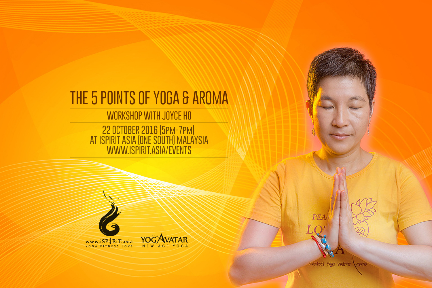 The 5 points of yoga Joyce Ho