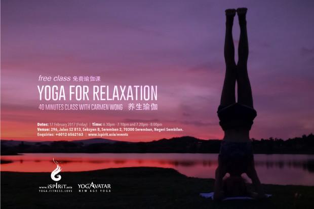 Yoga For Relaxation Carmen