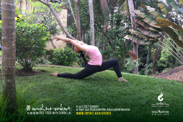 Sunshine Workout Free Yoga with Diana July2017