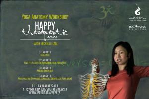 Happy Therapeutic Yoga Anatomy Workshop Michelle Lam